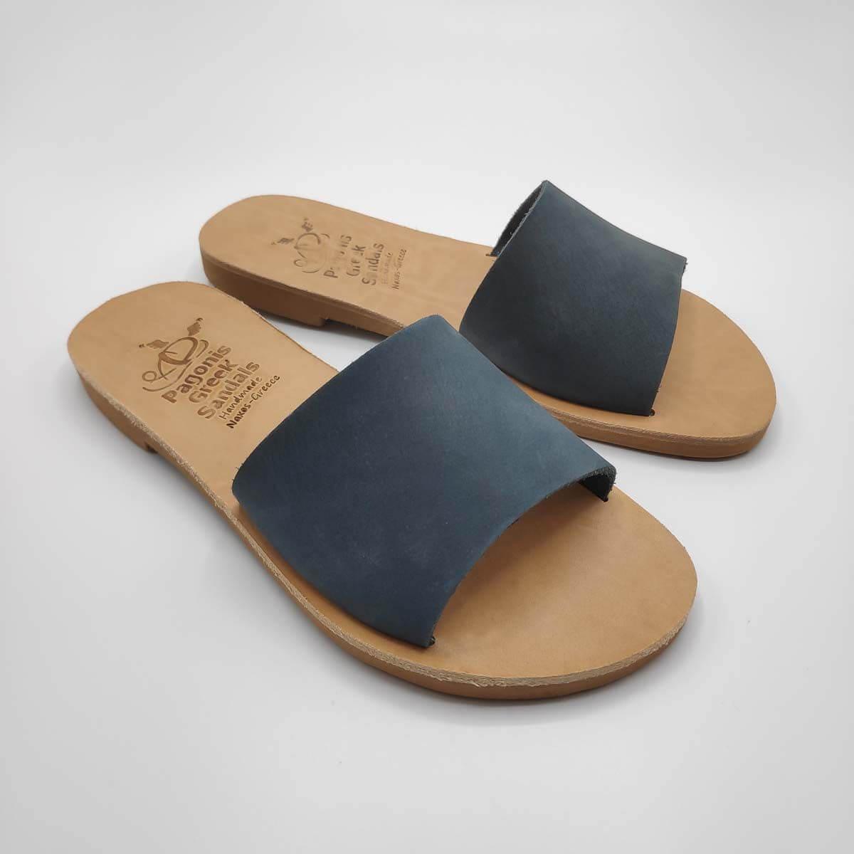 Demosthenes slides for women | Pagonis Greek Sandals