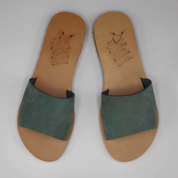 Demosthenes slides for women | Pagonis Greek Sandals