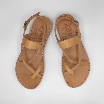 AGIASOS Back Strap Sandals | Pagonis Greek Sandals