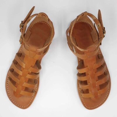 VOUNO gladiator sandals for women | Pagonis Greek Sandals