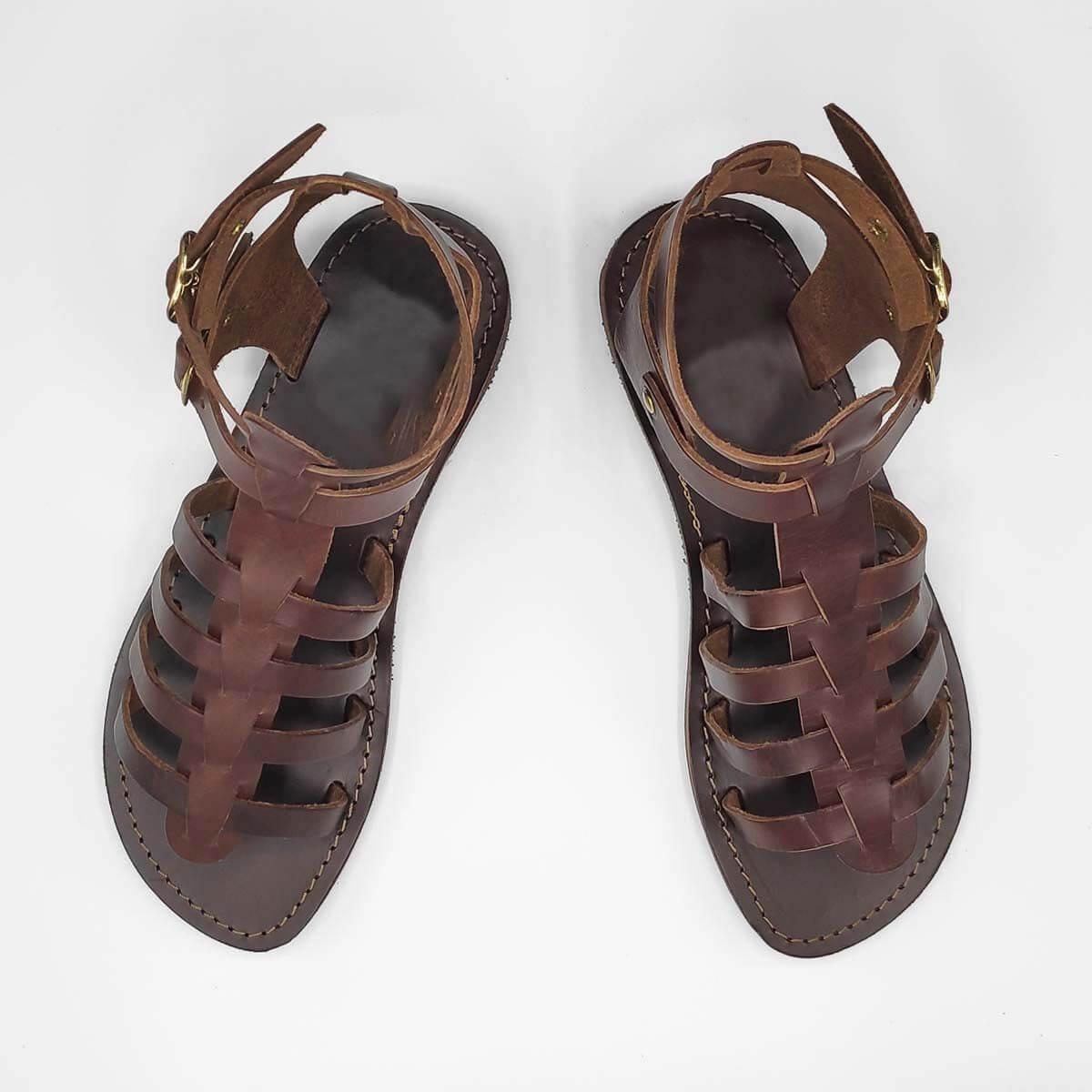 VOUNO gladiator sandals for women   Pagonis Greek Sandals