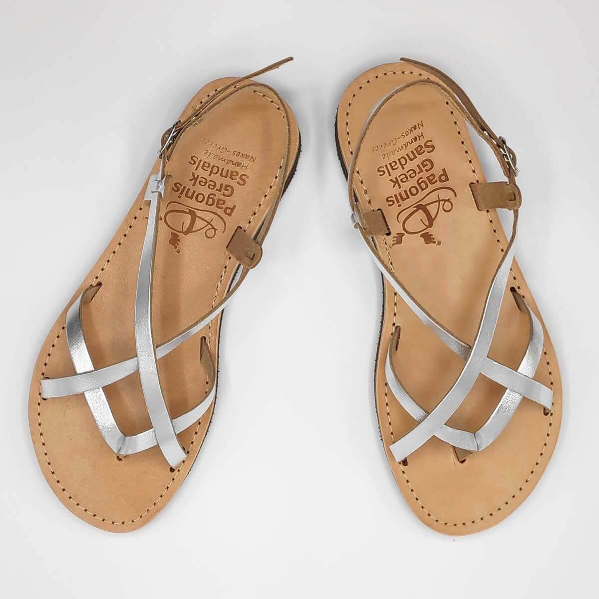 FTELIA strappy sandals | Pagonis Greek Sandals