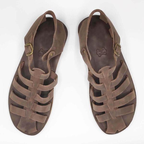 Mens Closed Toe Sandals | Almiro Men | Leather Sandals | Pagonis Greek Sandals