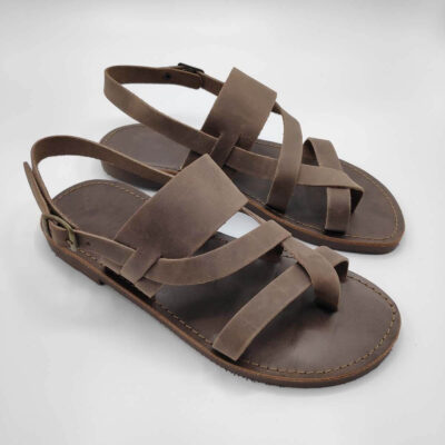 Mirtos strappy sandals for men | Pagonis Greek Sandals