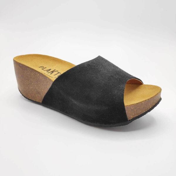 Womens Leather Platform Sandals
