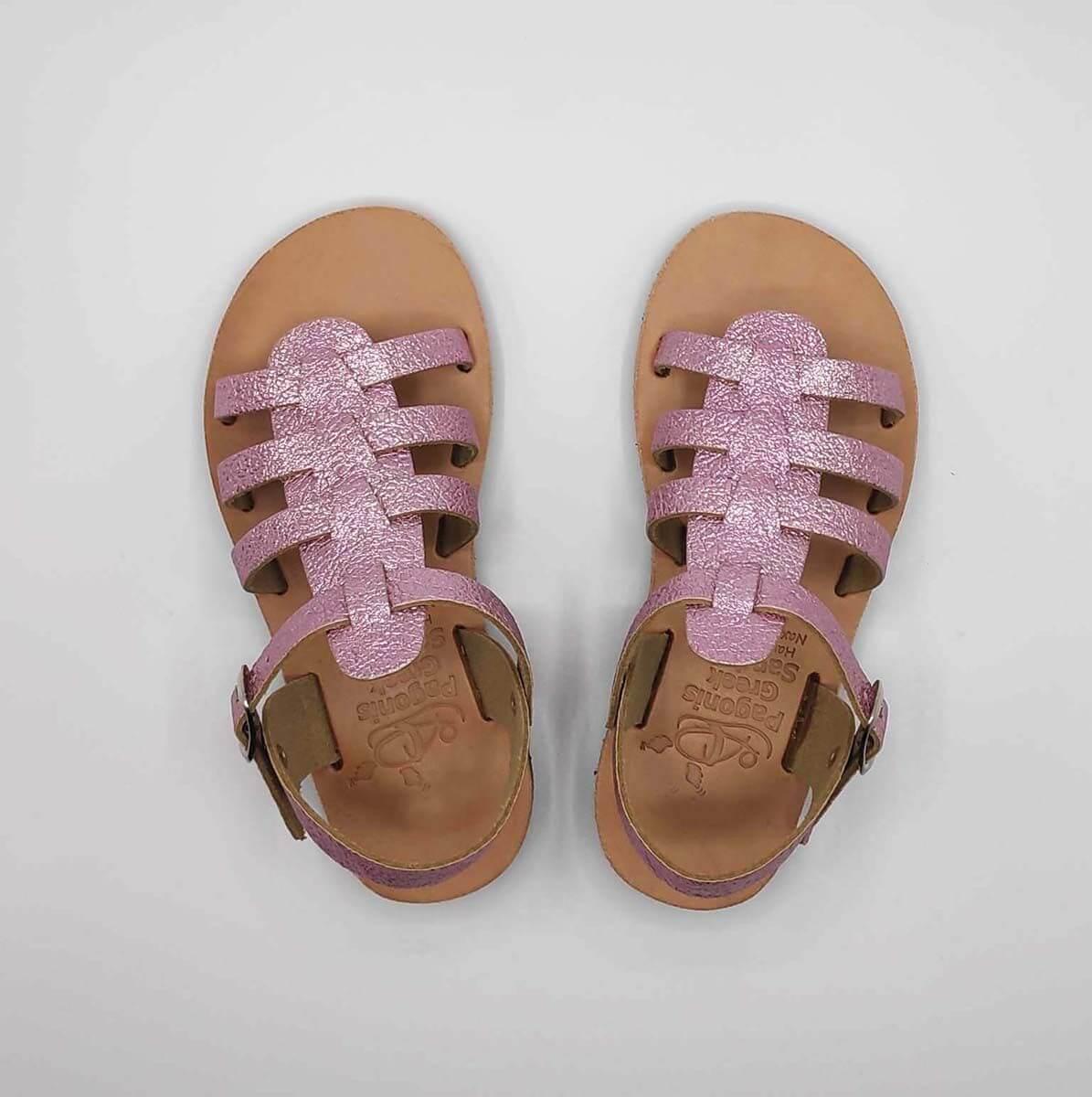 SERALI Kids gladiator sandals | Pagonis Greek Sandals