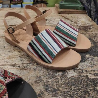 Stafili flatform sandals | Pagonis Greek Sandals