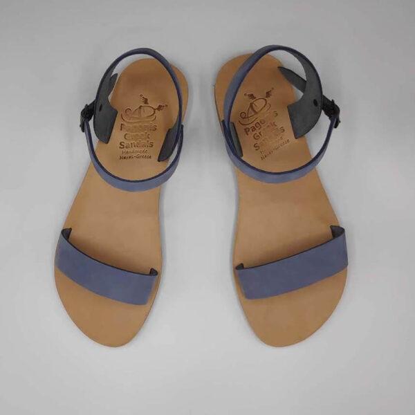 Dhonoussa flat strap sandals | Pagonis Greek Sandals