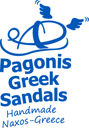 pagonis greek sandals logo