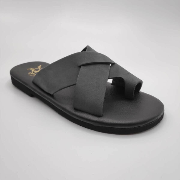 Orcos Men's Slide Sandals | Pagonis Greek Sandals