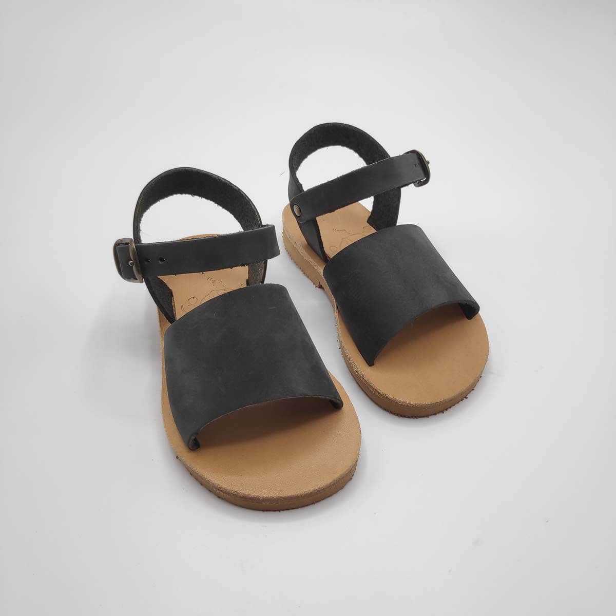 Leather Sandals for toddlers | Stafili Kids | Pagonis Greek Sandals