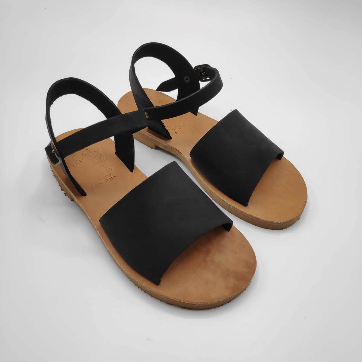 Leather Sandals for girls | Stafili Kids | Pagonis Greek Sandals