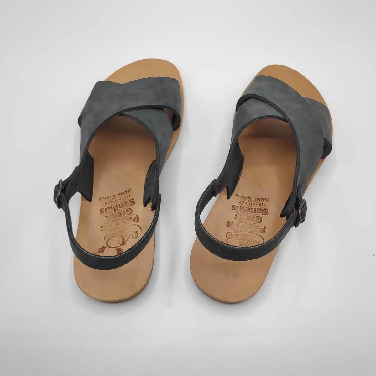 AMITI criss cross sandals   Pagonis Greek Sandals