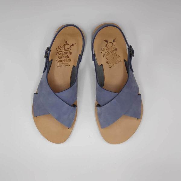 AMITI criss cross sandals | Pagonis Greek Sandals