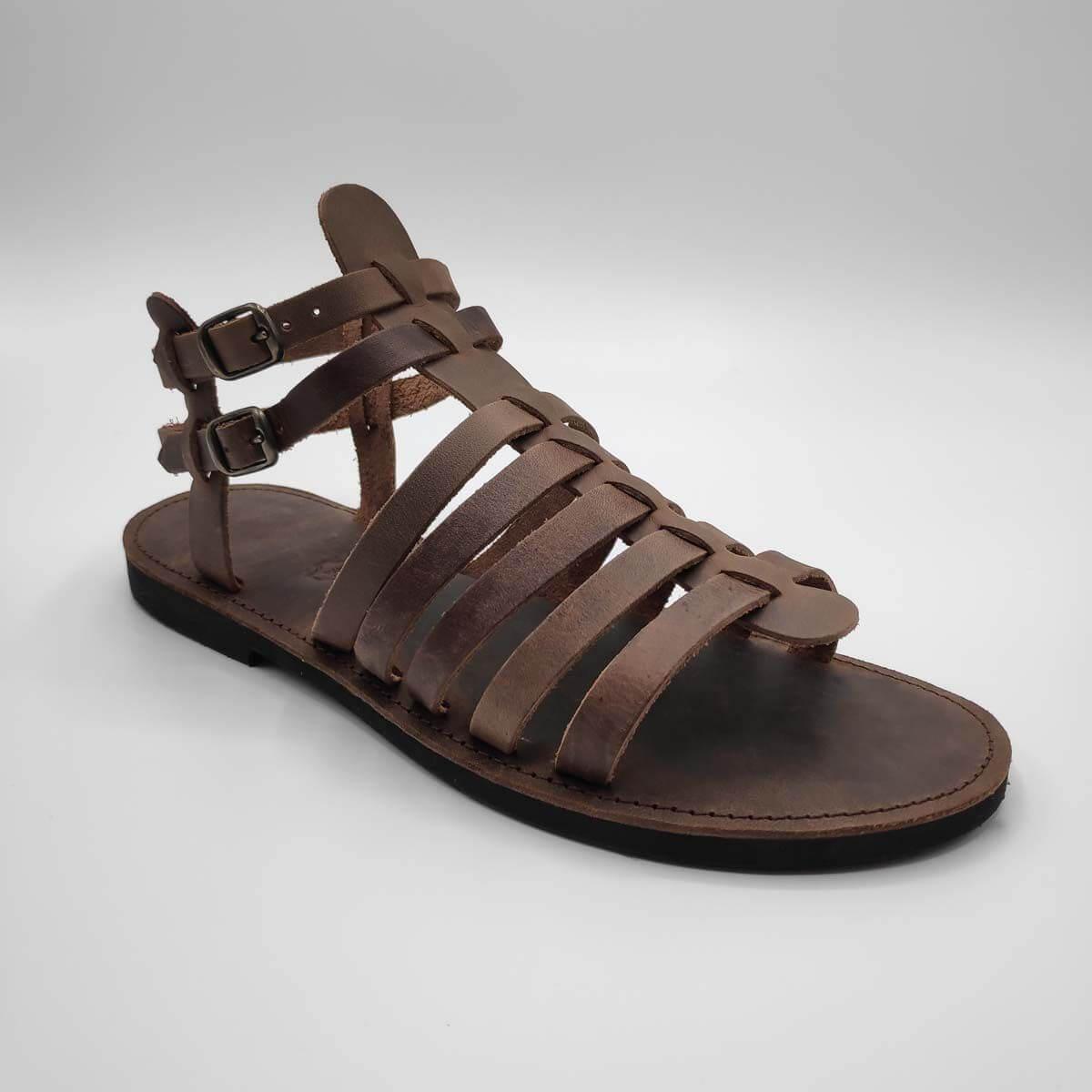 Gladiator Sandals for Men | Spartan Men | Leather Sandals | Pagonis Greek Sandals
