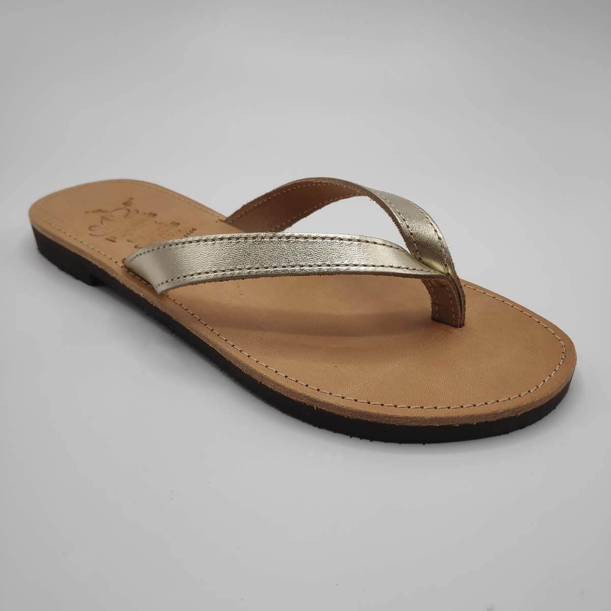 KALOKAIRI leather flip flops | Pagonis Greek Sandals