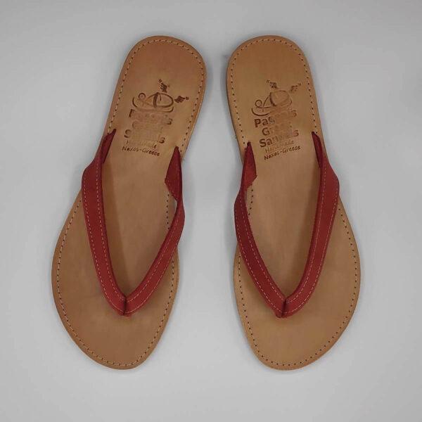 KALOKAIRI leather flip flops   Pagonis Greel Sandals