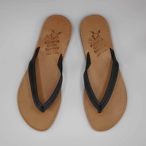 KALOKAIRI leather flip flops | Pagonis Greel Sandals
