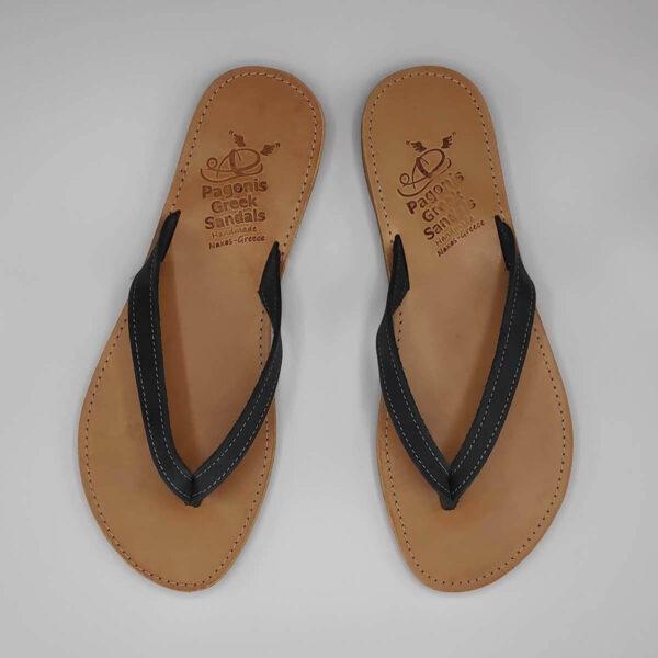 KALOKAIRI leather flip flops | Pagonis Greel Sandals
