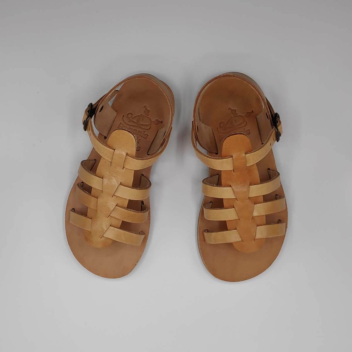 SERALI Kids gladiator sandals | Pagonis Greek Sandals