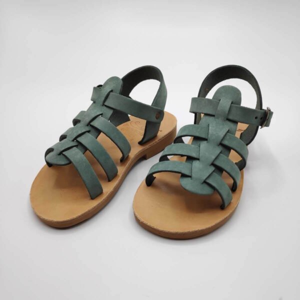 SERALI Kids gladiator sandals   Pagonis Greek Sandals