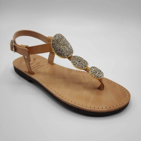 Kassandra jewelled sandals | Pagonis Greek Sandals