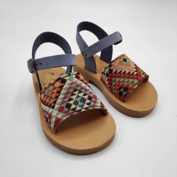Toddler Sandals For Girls | Stafili Kids Fabric