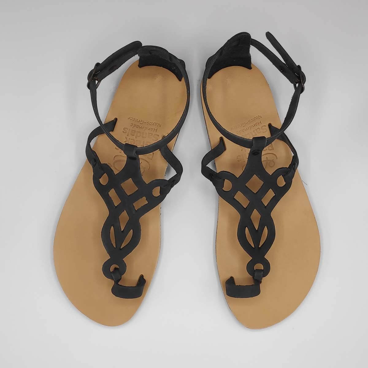 Tribal Sandals | Ancient Greece | Handmade Leather Sandals | Pagonis Greek Sandals
