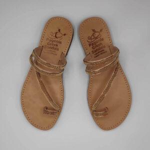 Embellished Slides | Comi Kiani | Leather Sandals | Pagonis Greek Sandals
