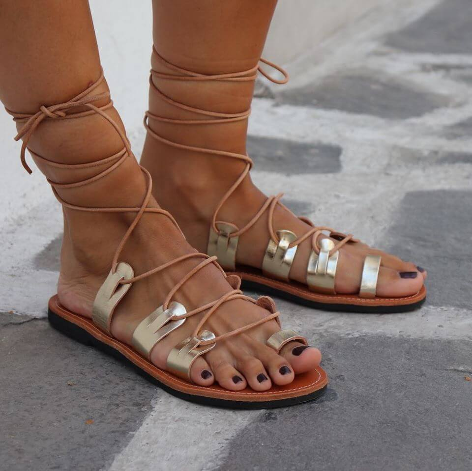 Laced up sandals: the all time classic summer favorite
