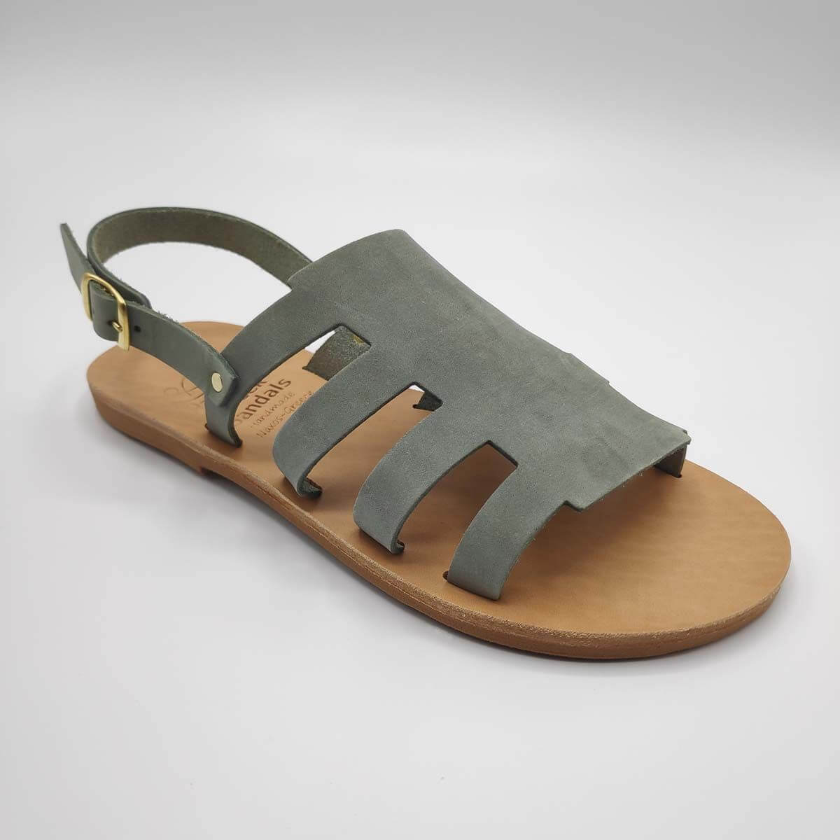 Volivas - Greek leather sandals for women