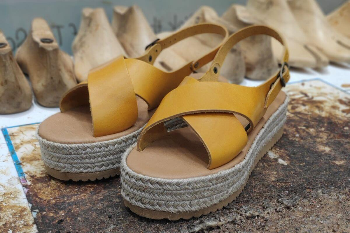 Wedge flatform sandals | Pagonis Greek Sandals